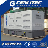 Generatore insonorizzato del diesel di elettricità di 120kw 150kVA Cummins