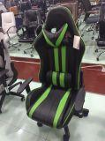 Moderner Entwurf PU-weißer schwarzer Spiel-Stuhl-Büro-Stuhl