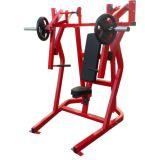 Prensa de banco ISO-Lateral, equipo comercial de la fuerza del martillo de la gimnasia de la aptitud del uso