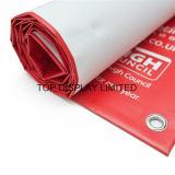 Изготовленный на заказ знамя гибкого трубопровода PVC винила напольный рекламировать печатание