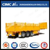 3axle 말뚝 또는 반 화물 트레일러 (강선전도 자물쇠로 콘테이너를 전송할 수 있다)