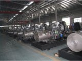 gerador Diesel ultra silencioso de 160kw/200kVA Shangchai para a fonte dos poderes de emergência