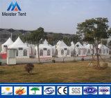 Modernes Pagode-Zelt für im Freienaktivität