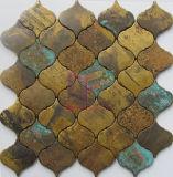 Latternの形の銅は作ったモザイク・タイル(CFM1084)を