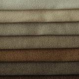 Présidence de sofa de plaine de capitonnage de polyester et tissu de teinture de literie