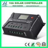 10A LCDのUSB 12/24Vの調整装置(QWP-SR-HP2410A)が付いている太陽料金のコントローラ