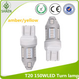 T20 doble 150W Epistar-Su 30LED Amber LED Turn Lamp