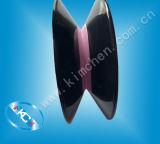 De van een flens voorzien Rol van de Draad van de Katrol van de Gids van de Draad/Plastiek Gecombineerde Ceramische Katrol
