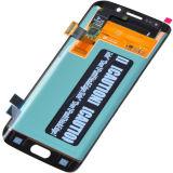 SamsungギャラクシーS6端G925f G925A G925VのためのLCDスクリーン