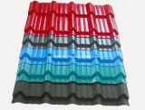 Hoja de aluminio acanalada y de Ibr del hierro del material para techos