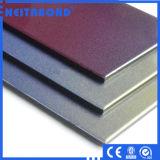Materiales incombustibles edificio compuesto de aluminio del panel A2 del último