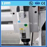 Máquina gravada madeira de Moding da espuma da estaca do granito do CNC do eixo do Water-Cooling