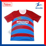 販売法の昇華サッカーのフットボールのワイシャツのジャージーの熱いスポーツ・ウェア