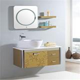 標準的な壁に取り付けられたステンレス鋼の浴室用キャビネット