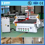 Estructura fuerte tablones de madera muro de hormigón Máquina de corte CNC Router
