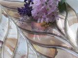 Mosaico del vidrio de corte del jet de agua movida hacia atrás del papel de empapelar (CFW52)