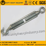 中国の商業タイプ可鍛性鋳鉄の鋼鉄ターンバックル