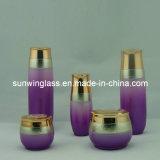 Alta calidad Cream Jar y Lotion Glass Bottle (C-9010)