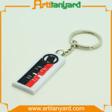 PVC suave modificado para requisitos particulares Keychain del caucho