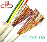 UTP 케이블 25pair 24AWG 구리 케이블 & 철사 또는 컴퓨터 유선 통신 케이블 연결관