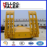 Schwere Geräten-Transport Tri-Welle 60 Tonnen-Exkavator-Schlussteil