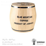 _E de madera del barril del café de Devorative del color natural barato de encargo caliente de la venta de Hongdao