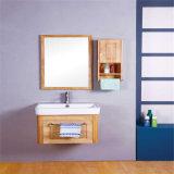 Nuova vanità all'ingrosso della stanza da bagno della parete di legno solido moderna