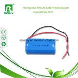 Batterie des Lithium-18650 2200 Milliamperestunden-Zelle für LED-Licht