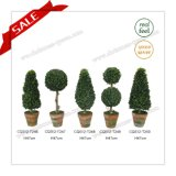 Mini decorazione artificiale del Topiary di ultimo stile
