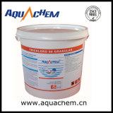 Chlore acide trichloroisocyanurique de la tablette 200g TCCA de Multiaction 86%