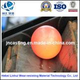 造られた鋼鉄粉砕の球B 6/鉱山のための熱間圧延の鋼球または粉砕の鋼球か粉砕の球
