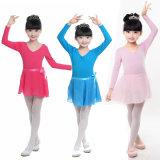 Spandex-Tanz-Trikotanzug der 95% Baumwolle5% für Mädchen