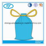 Мешок Drawstring высокого качества пластичный с цветом и размером изготовленный на заказ логоса различным