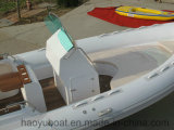 22.3feet 680b Inflatable Rib Boat, Rescure Boat, Fishing Boat, Rigid Hull Boat, PVC und Hypalon