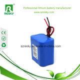 Paquete recargable 7.4V 6000mAh de la batería del Li-ion 2s2p para el altavoz de Bluetooth