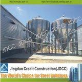 Selado Sobrados Estrutura de aço galvanizado Chicken House