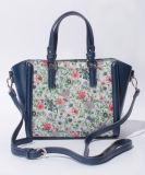 PU 운반물 핸드백 (XR0384)가 인쇄된 최신 판매 여자 형식에 의하여 꽃이 핀다