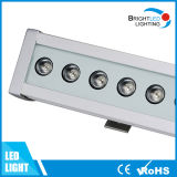 Luz 15W da arruela da parede do diodo emissor de luz de DMX512/DMX512A com 5 anos de garantia