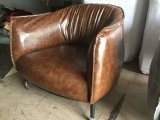 Chaise en cuir Waxy, président Europe, Sofa Chaise en cuir (de Y035)