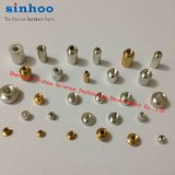 Smtso-M3-8et, SMD Mutter, Oberflächendistanzhülse der montierungs-Befestigungsteil-SMT, SMT Distanzstück, Bandspule-Paket, Messing, Aktien