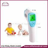 Thermometer van het Voorhoofd van het niet-Contact van de Baby van de Vorm van het kanon de Infrarode