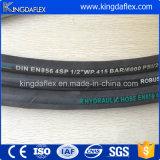 Stahldraht-Spirale-industrieller hydraulischer Gummischlauch (4sp/r12)