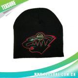 Обыкновенное толком связанное теплое темного цвета акриловое/шлем Beanie Knit (006)