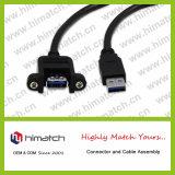 USB 2.0 케이블 B 남성에게 남성