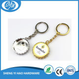 Kundenspezifische Zink-Legierungs-weiche Decklack-Marine Keychain