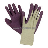 Purple Palm Coated Latex Garden Gloves