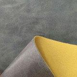 Chemiefasergewebe halb PU-Leder für Sofa-Möbel-Auto-Sitzdeckel