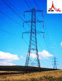 Башня передачи сигнала провода Guyed