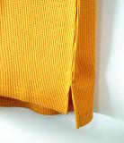 Maglietta Long-Sleeved delle donne profonde scarne casuali del V-Collo