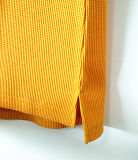 T-shirt Long-Sleeved de femmes profondes maigres occasionnelles de V-Collet